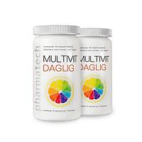 Viên uống bổ sung vitamin và khoáng chất Multivit Daglig