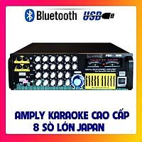 Amply Bluetooth karaoke ATANNOII PRO-8100 tích hợp lọc xì, đèn nháy - Hàng chính hãng