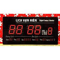 Đồng hồ led lịch vạn niên số lớn - 6001