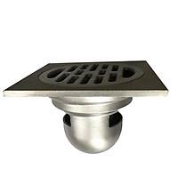 Phễu thoát sàn chống mùi hôi, chống công trùng, chống trào ngược GL SUS304 đúc nguyên khối 120x120 phi 90
