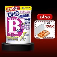 Viên Uống Vitamin B Mix Tổng Hợp DHC Tăng Cường Sức Khỏe 90 Ngày + Tặng Kèm Hộp Chia Thuốc