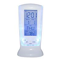 Đồng hồ báo thức để bàn đa năng có báo thức, lịch, nhiệt độ