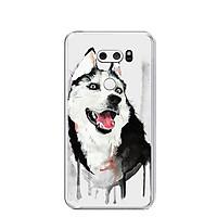 Ốp lưng dẻo cho điện thoại LG V30 - 0216 HUSKY - Hàng Chính Hãng