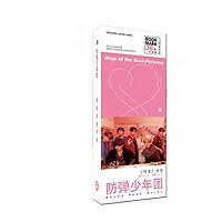 Bộ Bookmark 36 pic BTS đẹp dễ thương mẫu mới