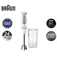 Máy xay cầm tay  Braun Sản xuất 100% tại Châu Âu Số 1 thế giới - hàng chính hãng