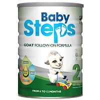 Sữa Dê Công thức Baby Steps Goat Follow-On Formula số 2 900gr