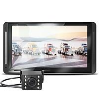 Camera hành trình dành cho xe tải màn hình 7inch full HD 1080P - Kèm Camera lùi 8 LED siêu sáng chống nước