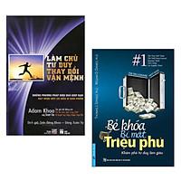 Combo bài học kinh doanh Triệu Phú: Bẻ Khóa Bí Mật Triệu Phú + Làm Chủ Tư Duy Thay Đổi Vận Mệnh (Sách kinh tế / Cẩm nang làm việc hiệu quả)