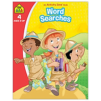 School Zone An Activity Zone Book: Word Searches