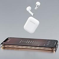 Tai nghe Bluetooth True Wireless chuẩn Bluetooth V5.0 AB1526P cao cấp, chất âm cực hay, hỗ trợ nghe gọi lên đến 2.5 giờ, đặc biệt tự động kết nối khi mở hộp và hỗ trợ sạc không dây - Hàng chính hãng