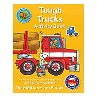 Amazing Machines Tough Trucks Activity Book