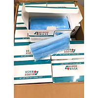 Bộ 2 hộp khẩu trang y tế 4 lớp kháng khuẩn , bảo vệ sức khỏe 4BELOVED MASK cao cấp