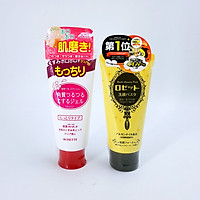 Combo Dưỡng Da Sáng Mịn Dành Cho Da Khô Rosette Gommage Moist + Rosette Face Wash Pasta Ghassoul Bright