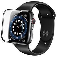 Miếng dán cường lực Nillkin Full 3D cho Apple Watch Series 6 /  Apple Watch SE (Size 40/44mm) - Hàng Nhập Khẩu