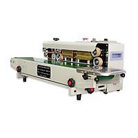Máy hàn miệng túi tự động AS01. Đây là dòng máy tiết kiệm nhân công với hiệu suất làm việc cao, có thể điều chỉnh tốc độ băng chuyền, có thể tùy chỉnh nhiệt độ hàn cho phù hợp với từng loại nguyên liệu. Hàng chính hãng Thái Lan
