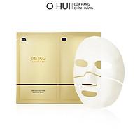 Mặt nạ tinh chất vàng 24k làm sáng và tái sinh da OHUI The First Geniture Ampoule Mask 40ml-Gimmick