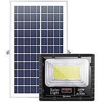 Đèn LED Năng Lượng Mặt Trời 200W | Chính hãng JINDIAN | [ Model 2020 ]