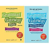 Bộ Sách Ngữ Pháp Tiếng Anh Bán Chạy Số 1 Tại Hàn Quốc ( Grammar Gateway Basic + Grammar Gateway Intermediate ) (Tặng Notebook tự thiết kế)
