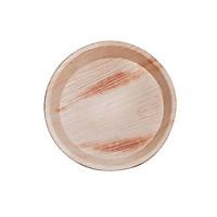 Bộ 10 Đĩa mo cau tròn cao cấp A - Thay thế đĩa nhựa dùng 1 lần - An toàn sức khỏe - Thân thiện môi trường