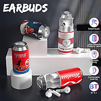 Super cool bluetooth 5.1 TWS Wireless HiFi Earphones LED Earbuds Headphones for IOS Android