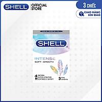 [Hộp 3 cái] Bao cao su Shell Seahorse - Kéo dài thời gian | SHELL OFFICIAL STORE