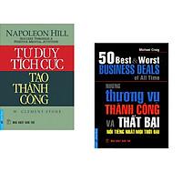 Combo 2 cuốn sách: Tư Duy Tích Cực Tạo Thành Công +  Những Thương Vụ Thành Công và Thất Bại