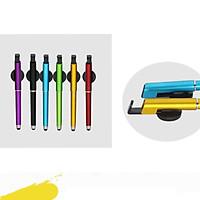 Bút cảm ứng nhiều màu sắc nhỏ gọn tiện lợi bút viết giá đỡ (MÀU NGẪU NHIÊN)