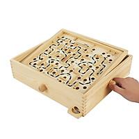 Đồ chơi gỗ - Trò chơi lăn bi mê cung - TotdepreHH1047