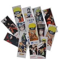 Hộp 36 Bookmark Đánh Dấu Sách Naruto