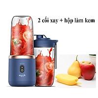 Máy Xay Sinh Tố cầm tay Deerma Mini Juice Blender Tiện Dụng thông minh DEM-NU06 - Hàng Chính hãng