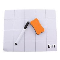Magnetic Project Mat , Cell Phone Magnet Work Surface Anti Slip Mat with a Marker Pen and Eraser for iPhone 5 6 7 8 X for SAMSUNG Galaxy S8 Note s7