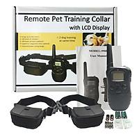 Vòng cổ hỗ trợ huấn luyện chó chuyên nghiệp hoạt động phạm vi 300m 998D