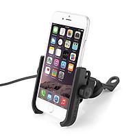 Giá đỡ điện thoại xe máy tích hợp sạc điện thoại chất liệu Nhôm 2805C
