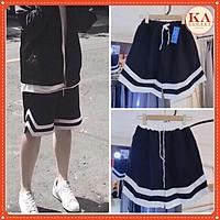 Quần short V - KA Closet, from to đẹp, cạp luồn dây chạy kansai nam nữ mặc được KÈM VIDEO ẢNH THẬT