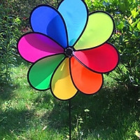 Chong chóng 8 cánh vải loại tốt chịu gió mạnh không bung