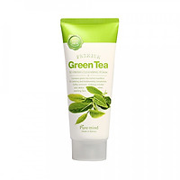 Sữa rửa mặt chiết xuất từ trà xanh PURE MIND GREEN TEA SO FRESH CLEANSING FOAM