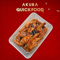 Chân gà hấp tàu xì (Dimsum) AKUBA Quick Food chân gà mềm, vị tàu xì mằn mặn thơm thơm, ăn liền - làm nhanh hộp 400g