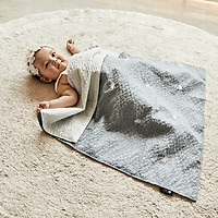 Chăn đắp cho bé Rototo bebe nhập khẩu Hàn Quốc chất liệu Ripple (Polyester) thoáng mát
