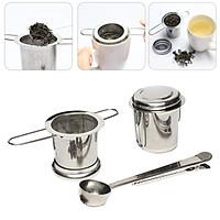 Tea Infuser Fine Mesh Strainer Stainless Steel Mesh Tea Infuser Loose Leaf Filter for Brewing Tea