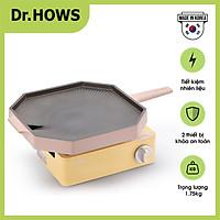 Bộ 02 món Bếp gas Twinkle Mini + Chảo nướng Dr.Hows BBQ Pallete