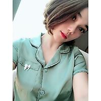 Đồ bộ nữ chất liệu lụa trơn - MSP 29122020HIEN - Freesize - Giao Màu ngẫu nhiên