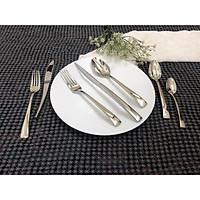 Bộ Phụ Kiện Bàn Ăn 7 Món Inox 304 18/10 Cao Cấp Stainless Steel Bousce Cutlery