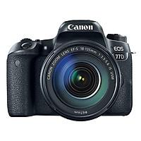 Máy Ảnh Canon 77D Kit 18-135mm IS Nano USM - Hàng Nhập Khẩu (Tặng Thẻ 16GB + Tấm Dán LCD)
