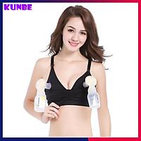 Áo Vắt Sữa, Áo Lót Hút Sữa Rảnh Tay Và Cho Con Bú 2 Trong 1 KUNBE Mặc Được Cả Ngày Thay Áo Ngực Thông Thường
