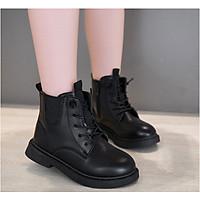 Giày Boot da cho bé gái phong cách hàn quốc (mẫu mới nhất ) - BB108