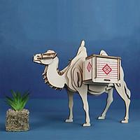 Đồ chơi lắp ráp gỗ 3D Mô hình Con Lạc Đà Camel Laser