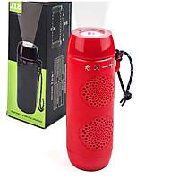 Loa Bluetooth GUTEK J18 Đa Năng Kiêm Đèn Pin Cầm Tay Siêu Sáng, Loa Nghe Nhạc Không Dây Chống Va Đập Có Dây Đeo Theo Balo, Hỗ Trợ Cổng 3.5, USB, Đài FM, Thẻ Nhớ, Nhiều Màu Sắc - Hàng Chính Hãng