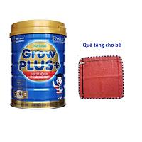 Sữa Grow Plus xanh 900g (cho trẻ 1 tuổi trở lên) công thức FDI độc quyền của Nutifood Thụy Điển giúp trẻ biếng ăn tăng cân hiệu quả. Tặng khăn mặt mềm mịn cho bé.