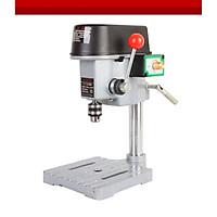 Máy khoan để bàn mini công suất 150W hỗ trợ sửa chữa vật dụng khoan cắt, mài ( Tặng kèm đèn pin cơ bóp tay không dùng pin )