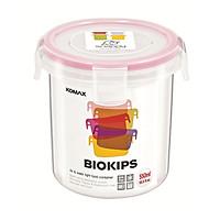 Hộp Nhựa Tròn Đựng Thực Phẩm Komax Cao Cấp Hàn Quốc 550ml - Tặng Gói Trà Sữa Matcha Macca